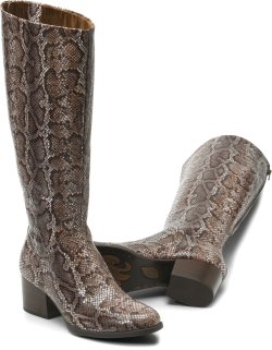 Audriana in color Brown Snake Print