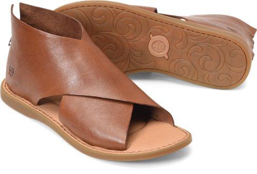 Born Iwa in Brown - Born Womens Sandals
