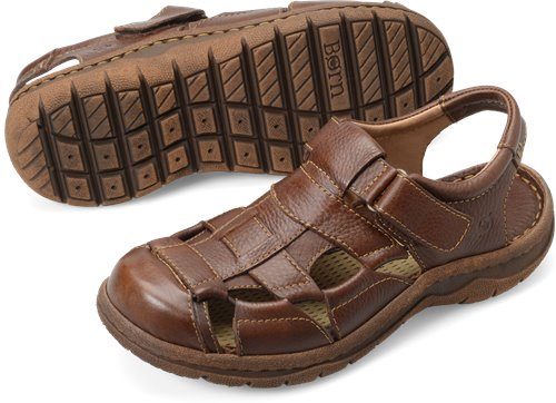 277148e695bf Born Cabot II in Walnut - Born Mens Sandals on Bornshoes.com