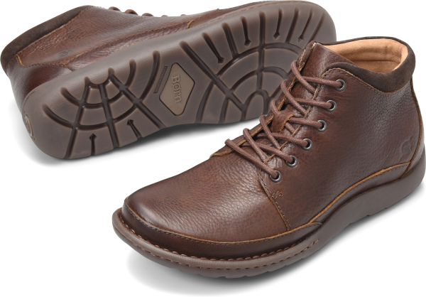 BORN Nigel Boot : Brown - Mens