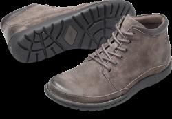 Nigel Boot in color Grey Combo Suede