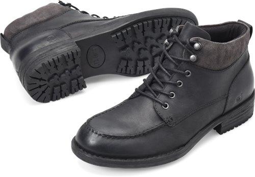 9a173865017 Born Hunter in Black/Dark Grey Combo - Born Mens Boots on Bornshoes.com
