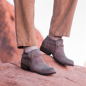 9e4543888 The Born Women's Boots Collection of Shoes. shown in Marmotta Distressed ( Gray) on Location View