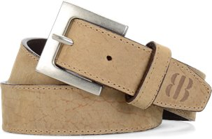 Brooklyn Boot Company Belt  in Bison Leather
