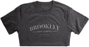 Brooklyn Boot Company T-Shirt  in Grey