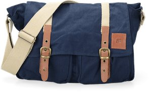 BROOKLYN BOOT COMPANY MESSENGER in Navy