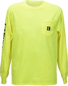 Style: #AC219 shown in hivis yellow