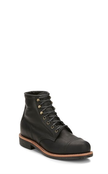 "Image for 6"" BLACK BRENTWOOD HOMESTEAD LACE UP boot; Style# 1901A97"