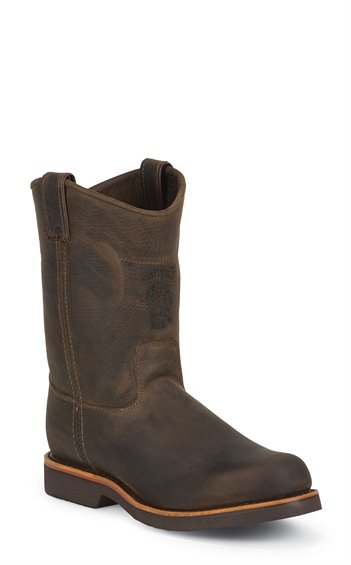 Image for CORBIN PULLON STEEL TOE CHOCOLATE boot; Style# 20076