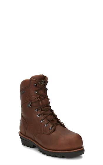"Image for 9"" HONCHO W/P INS COMP TOE LACE UP boot; Style# 20506"