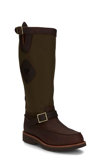 "Image for 17"" CUTTER BACK ZIP MOCC TOE SNAKE BOOT boot; Style# 23923"