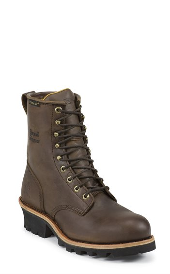 Image for ELLICOTT WATERPROOF STEEL TOE LOGGER boot; Style# 26379