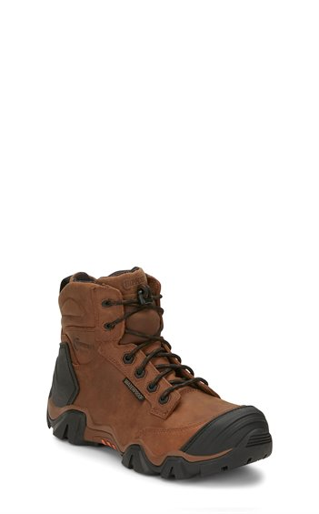 "Image for 6"" CROSS TERRAIN W/P BROWN NANO COMP TOE boot; Style# 50003"