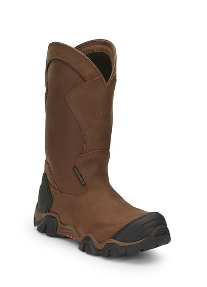 "Image for 12"" CROSS TERRAIN W/P BROWN NANO C/T boot; Style# 50023"