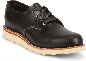Black Chippewa Boots Aldrich Black Oxford
