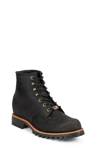 Black Chippewa Boots Blaine