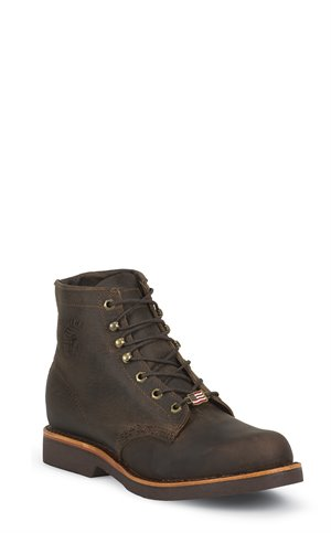 Chocolate Apache Chippewa Boots Ellison Laceup