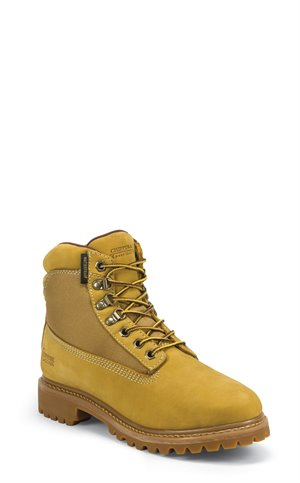 YELLOWS Chippewa Boots GOLDEN TAN NUBUC WATERPROOF PLAIN 6 WATERPROOF INSULATED