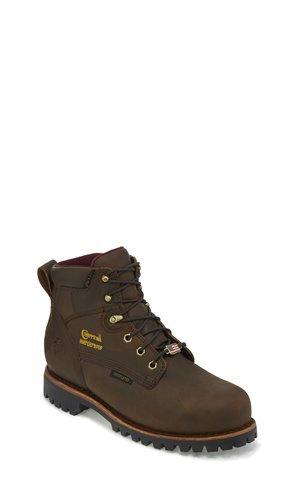 Brown Chippewa Boots Modoc Waterproof Insulated Comp Toe