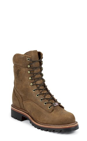 Tan Chippewa Boots 8 Golden Rod Man-Up Lace Up