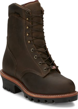 56f03553ba6 Chippewa Boots Mens Work-Outdoor Shoes - Waterproof on Shoeline.com