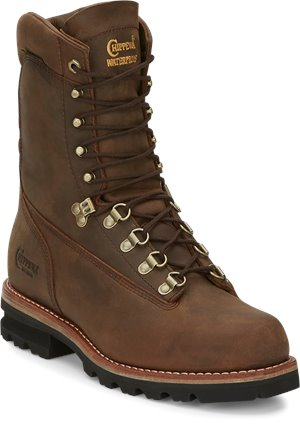 Brown Chippewa Boots 9 Weddell Bay Apache