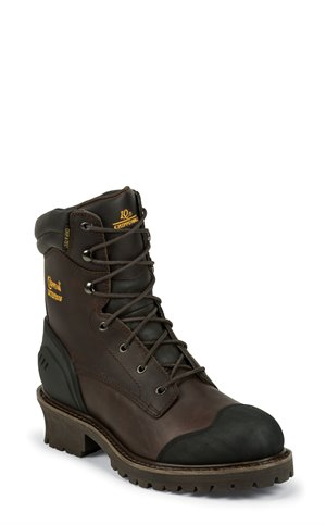 Chocolate Chippewa Boots Aldarion Chocolate Insulated