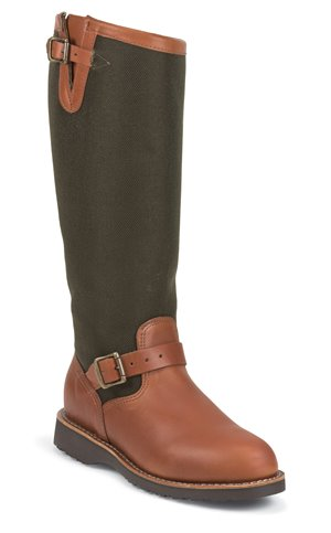 Medium Brown Chippewa Boots Sunjo