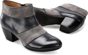 Black/Steel Gray Comfortiva Amesbury