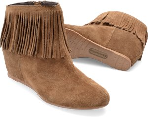 Desert Tan Suede Comfortiva Riverton