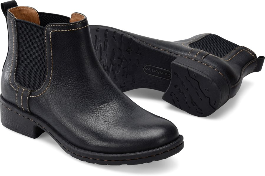Comfortiva Salara In Black Comfortiva Womens Boots On