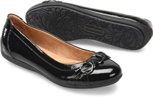 Black Patent Comfortiva Maloree