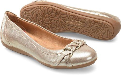 Satin Gold Comfortiva Maloree