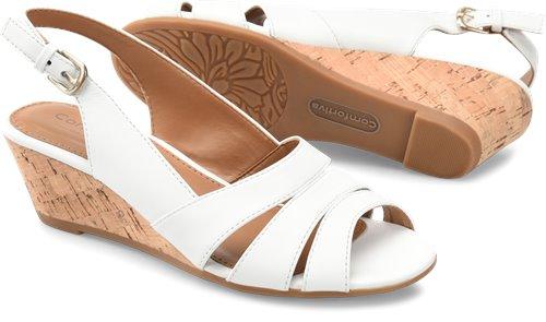 White Comfortiva Randi