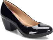 Amora in BLACK PATENT