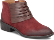 Corliss in Bordeaux Red