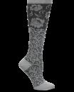 Compression Socks in Damask Grey