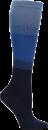 Compression Socks in Denim Ombre Block