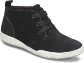 Leawood in BLACK SUEDE