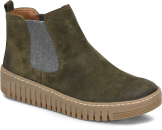Hartley in Olive Suede