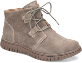 Corine in Taupe Suede