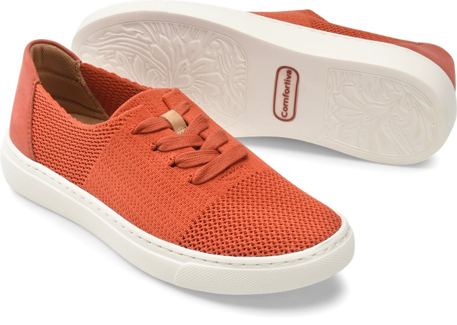 Comfortiva Trista : Orange - Womens