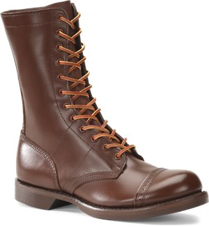 Brown Corcoran 10 Inch Historic Military Brown Jump Boot