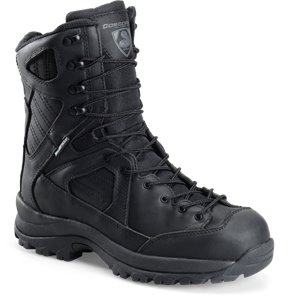 Black Corcoran 8 Inch Lace To Toe Hiker
