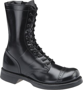 Black Corcoran 10 Inch Side Zipper Jump Boot
