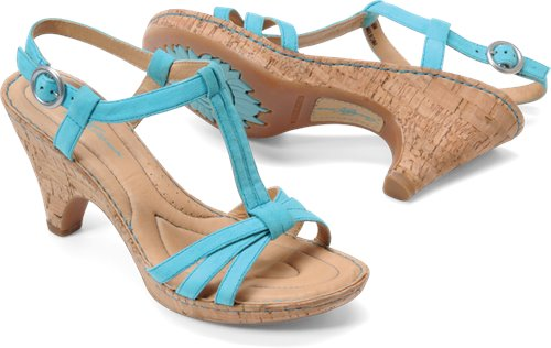 Turquoise Suede Born Crown Myndy