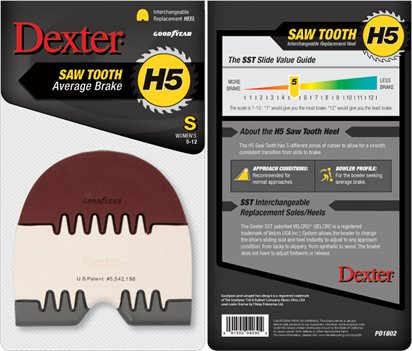 Multi Dexter Accessories H5 Saw Tooth Heel (Small)