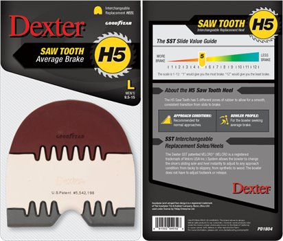 Multi Dexter Accessories H5 Saw Tooth Heel (Large)