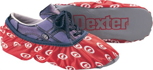 Red Dexter Accessories Womens DryDex Bowling Shoe Covers