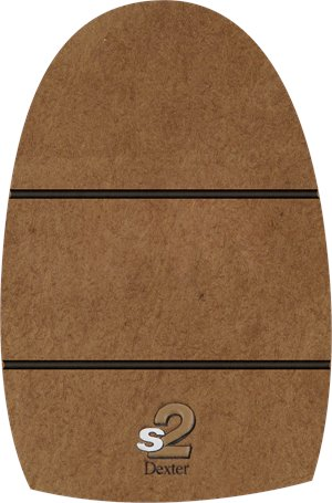 Brown Microfiber Pad Dexter Accessories THE 9-Slide 2